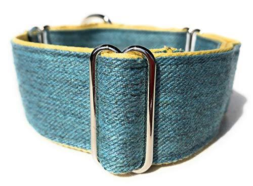 Martingale Greyhound/Saluki/Whippet Dog Collar 1.6'' Wide (11