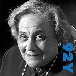 Essie Mae Washington-Williams with Dr. Gail Saltz at the 92nd Street Y