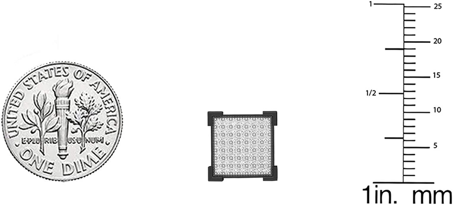 ctw Sterling Silver Dazzlingrock Collection 0.45 Carat Black Rhodium Plated Diamond V Prong Mens Stud Earrings 1//2 CT