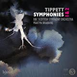 Tippett: Symphonies Nos 1 & 2 [BBC Scottish Symphony Orchestra ; Martyn Brabbins] [Hyperion A68203]