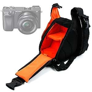 DURAGADGET Bolso Cruzado / Al Pecho Para La Cámara Canon EOS M3   Canon EOS 750D   Nikon D7200 + Funda Impermeable - Unisex