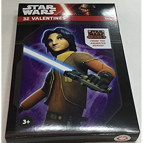Paper Valentine's Day Cards - Set of 32 (Star Wars Rebels) Sales