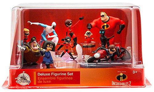 Disney Pixar Incredibles 2 Deluxe Figure Set from Disney