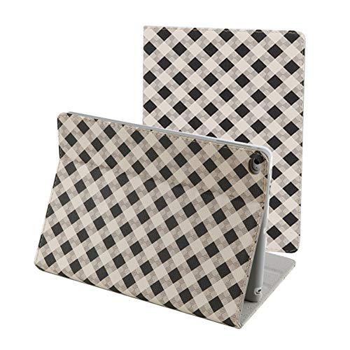 iPad 9.7 inch 2018/2017 Case,iPad Air Case,iPad Air 2 Case, PU Leather Magnetic Stand Smart Cover with Auto Sleep Wake Case for Apple iPad 6th / 5th Gen,iPad Air 1/2, Retro Plaid