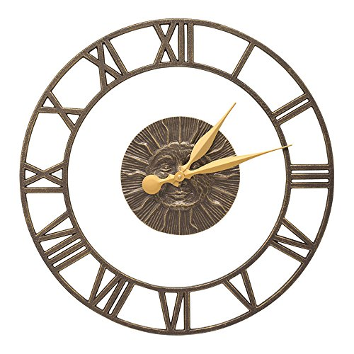 Sunface Floating Ring 21-in Indoor Outdoor Wall Clock - 01780 - Floating Ring Clock