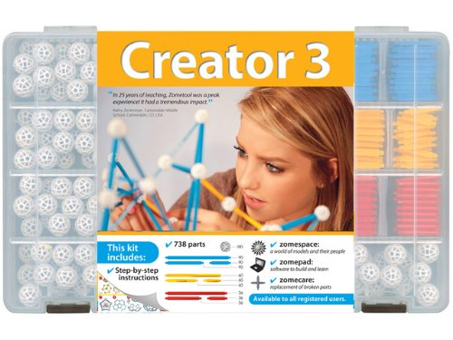 Zometool Creator 3 Construction Kit by Zometool (Image #1)