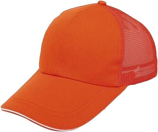 TREESTAR Gorra de béisbol para verano, color simple, con diseño de ...