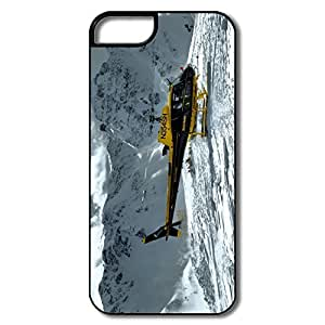 Amazing Design Mountain Helicopter IPhone 5/5s Case For Birthday Gift