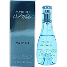 Cool Water by Zino Davidoff for Women - 1 oz EDT Spray