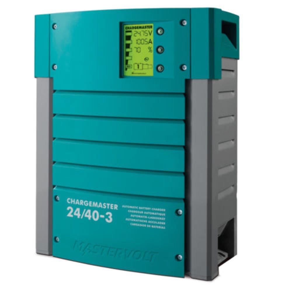 Mastervolt Chargemaster - Cargador de batería de 25 A (3 bancos, 12 V)