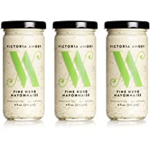 Victoria Amory Fine Herb Mayonnaise 8oz, Pack of 3