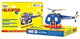 Genius Solar Energy Helicopter 11 Piece Wooden 3D Puzzle - Educational Activity Kit, Multi Color
