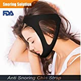 CPAP Chin Strap|Anti Snoring Chin Straps|Best Stop Snoring Solution|Stop Snoring Remedies AIDS|Snoring Relief Devices Adjustable Size for Snorerx Men and Women