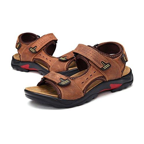 Shoes Beach Hombres Lightbrown Breathable Zapatos Para Sandalias 4qOWIUpFw