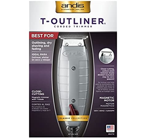 Andis T Outliner enchufe de la UE: Amazon.es: Belleza