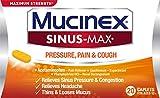 Mucinex Sinus-Max Max Strength Pressure & Pain Caplets, 20ct