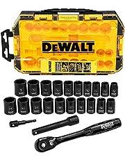 "DEWALT Impact Socket Set, 23-Piece, 3/8"" Drive Metric/SAE"