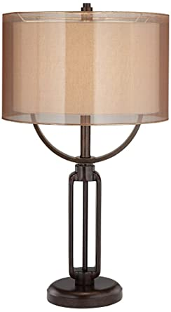 Franklin Iron Works Monroe Industrial Table Lamp
