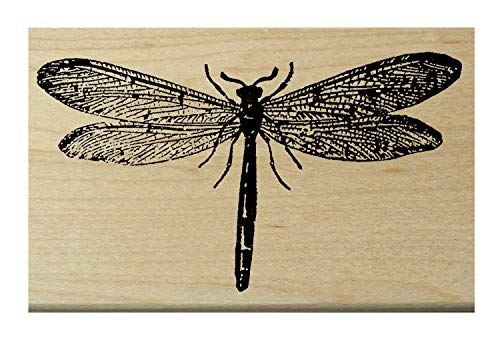 Dragonfly Rubber Stamp P3