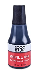 2000 PLUS Self-Inking Refill Ink - Black
