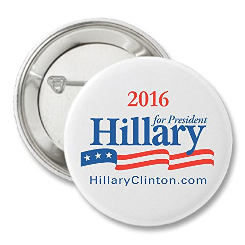 Hillary Clinton For President 2016 Campaign Button - 2""