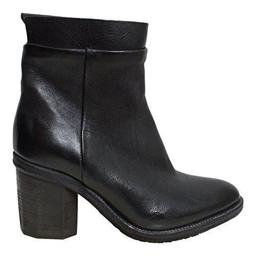 A.S.98 - Botas plisadas Mujer negro