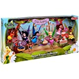 Disney Fairies Exclusive 4.5 Inch Doll 6-Pack Sweet Treats Collection [Vidia, Fawn, Tink, Silvermist, Rosetta & Iridessa]