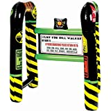 """The Party Continuous Adult Birthday Party Goofy """"Over The Hill"""" Cane , Black/yellow , 31 1/2"""" x 26"""" x 21 1/2"""" plastic"""