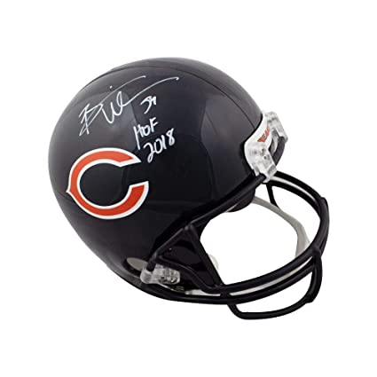 0aec384bc99 Image Unavailable. Image not available for. Color  Brian Urlacher HOF Autographed  Chicago Bears ...