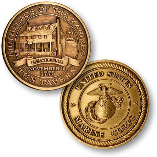 Antique Coin Mint (Northwest Territorial Mint Tun Tavern Bronze Antique)
