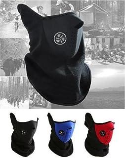 Domire Cou au Chaud Masque Visage Parfait pour Temps Froid Sport activités de Plein air Rouge