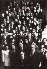 Qui sont vos psychanalystes ? par Jacques-Alain Miller