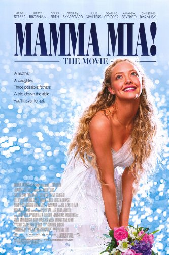 Mamma Mia Movie Poster 2 Sided Original Final Amanda Seyfried