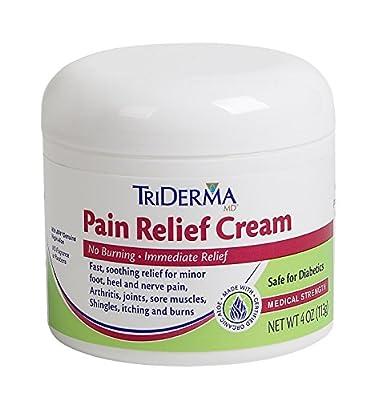 TriDerma Pain Relief Cream (4 oz)