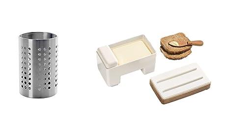 ORDNING IKEA utensili da cucina in acciaio inox, 12 cm di diametro ...