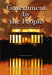 Government by the People, National, State, and Local Version, 20th Edition
