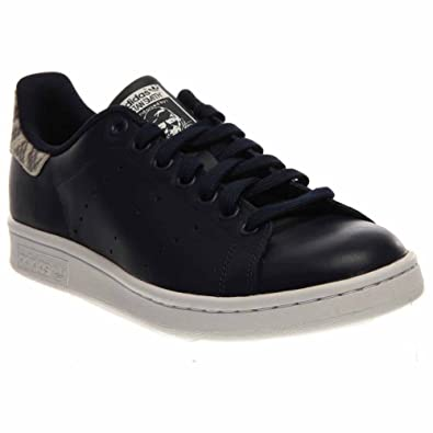 adidas Stan Smith W Ladies (Animal Pack) in Navy by, 9
