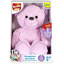 Bruin Baby Sleepytime Glow Bear - Pink