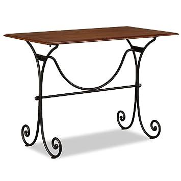 Shengfeng Esstisch Braun Gartentisch Kuchentisch Outdoor Tisch