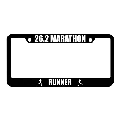 Speedy Pros Not All Who Wander are Lost Zinc Metal License Plate Frame Car Auto Tag Holder Chrome 2 Holes