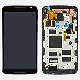 LCD display Digitizer touch screen Assembly For Motorola Moto X+1 X 2nd Gen 2014 XT1092 XT1095 XT1096 (Black w/ Frame)