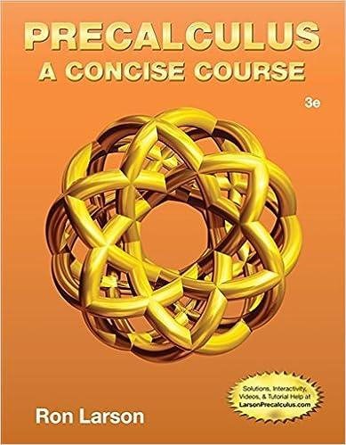 Precalculus a concise course ron larson 9781133960744 amazon precalculus a concise course 3rd edition fandeluxe Choice Image