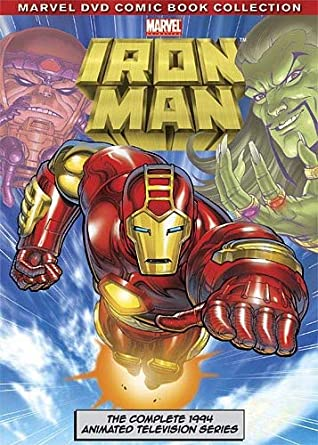amazon com iron man the complete animated television series john