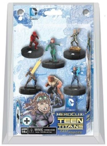 - DC HeroClix: Teen Titans: The Ravagers Fast Forces Starter