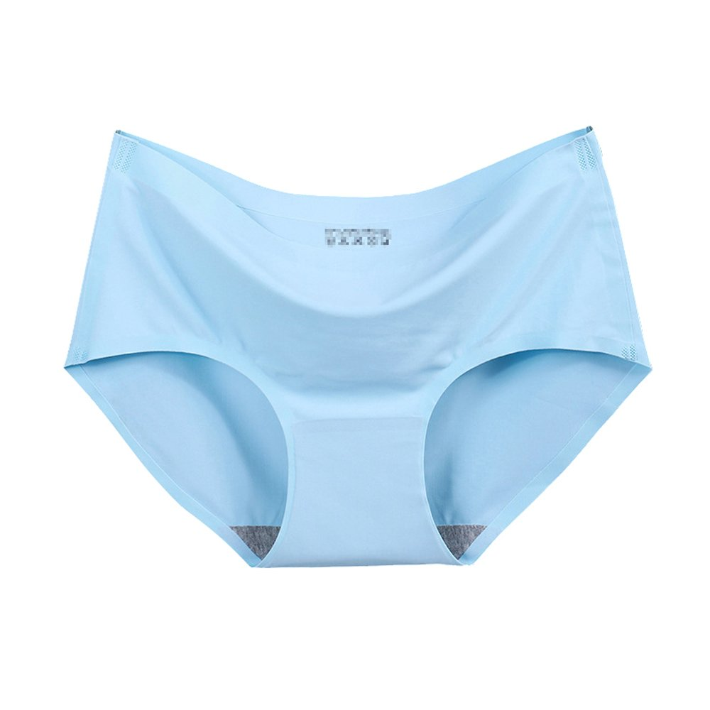 Womens Invisible No-Show Seamless Silk Healthy Panties Cocobla