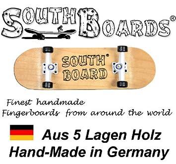 Komplett Holz Fingerskateboard OR//WS//SWZ  SOUTHBOARDS® Handmade Wood Fingerboard