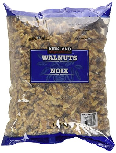 Kirkland Signature Walnuts, 3 Pounds (1 Pack) ()
