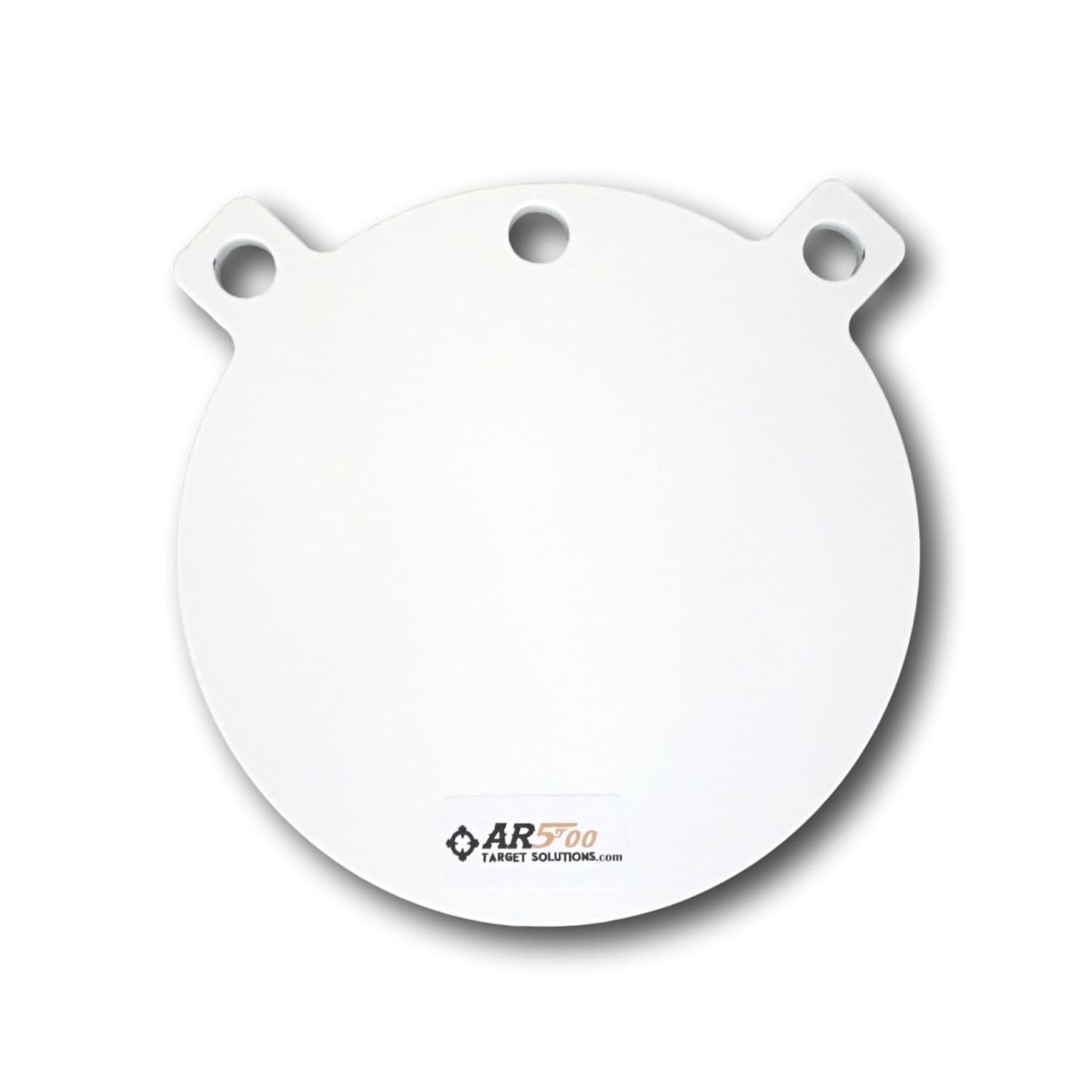 Ar500 Target Solutions- Quality 3/8, 1/2 Thick AR500 Steel Targets- Laser Cut Powder Coated Made in USA (6'', 1/2)