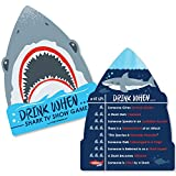 Shark Zone - Drink When TV Show Game Cards - Drinking Game - 20 Cards