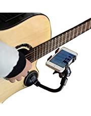 L'MS Guitar Sidekick Universal Smartphone Support Phone Holder for iPhone 6s Plus 6s 5s 5c Samsung Galaxy S6 Edge Plus S6 S5 S4 Note 5 4 LG